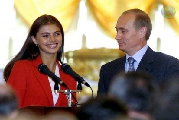 Alina Kabaeva a dat mana cu Putin