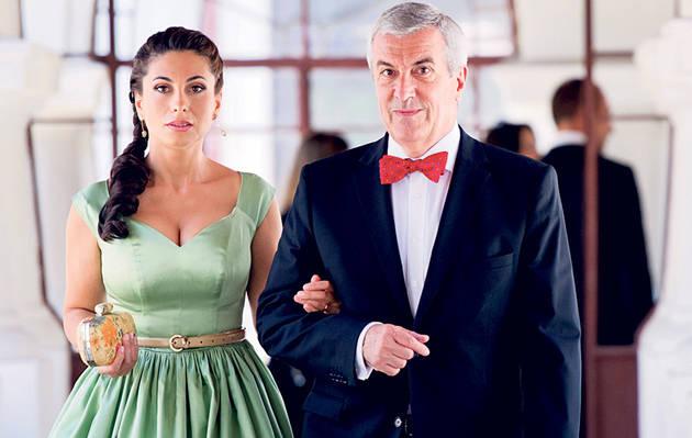Calin Constantin Anton Popescu-Tariceanu la a 5-a nevasta