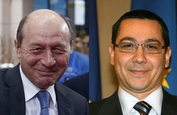 Basescu il sustine pe Ponta