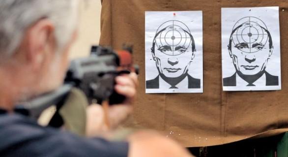 """Vladimir Putin este cel mai """"iubit"""" in Ucraina"""